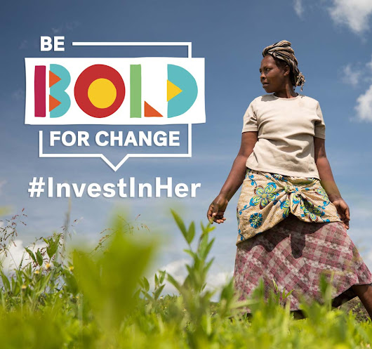 #InvestInHer by supporting women entrepreneurs on Kiva