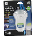 Ge Jasco 11281-T1 3-In-1 Soft White Rechargeable Power Failure Led Night Light