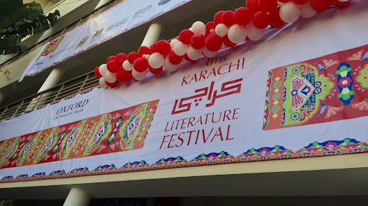 Enthusiasts and organizers gather at Karachi Literature Festival