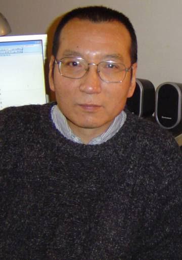 Imagen tomada en 2005 del disidente chino Liu Xiaobo en Guangzhou, al sur de China.