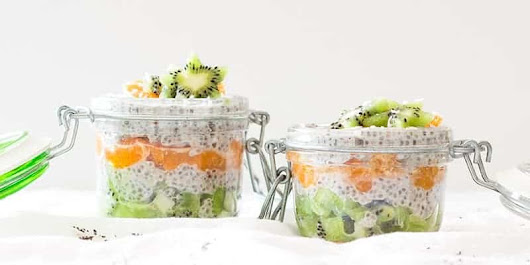 Healthy Coconut Chia Pudding
