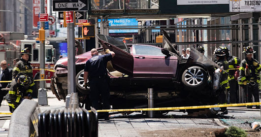 Pedestrian Safety and the Rampage in Times Square