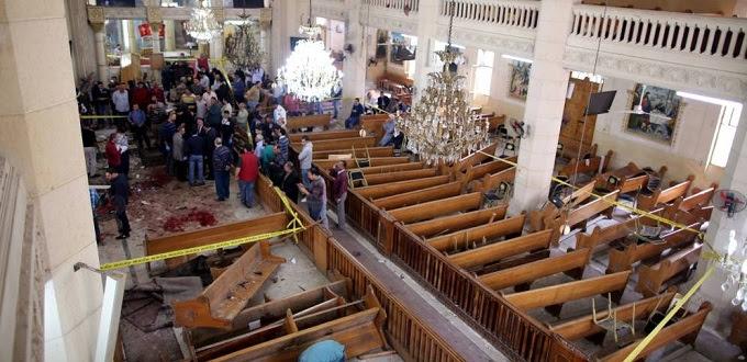 Atentados terroristas en Egipto dejan al menos 36 muertos y más de 50 heridos