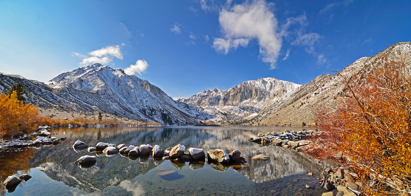 Fall colors fading at Convict lake