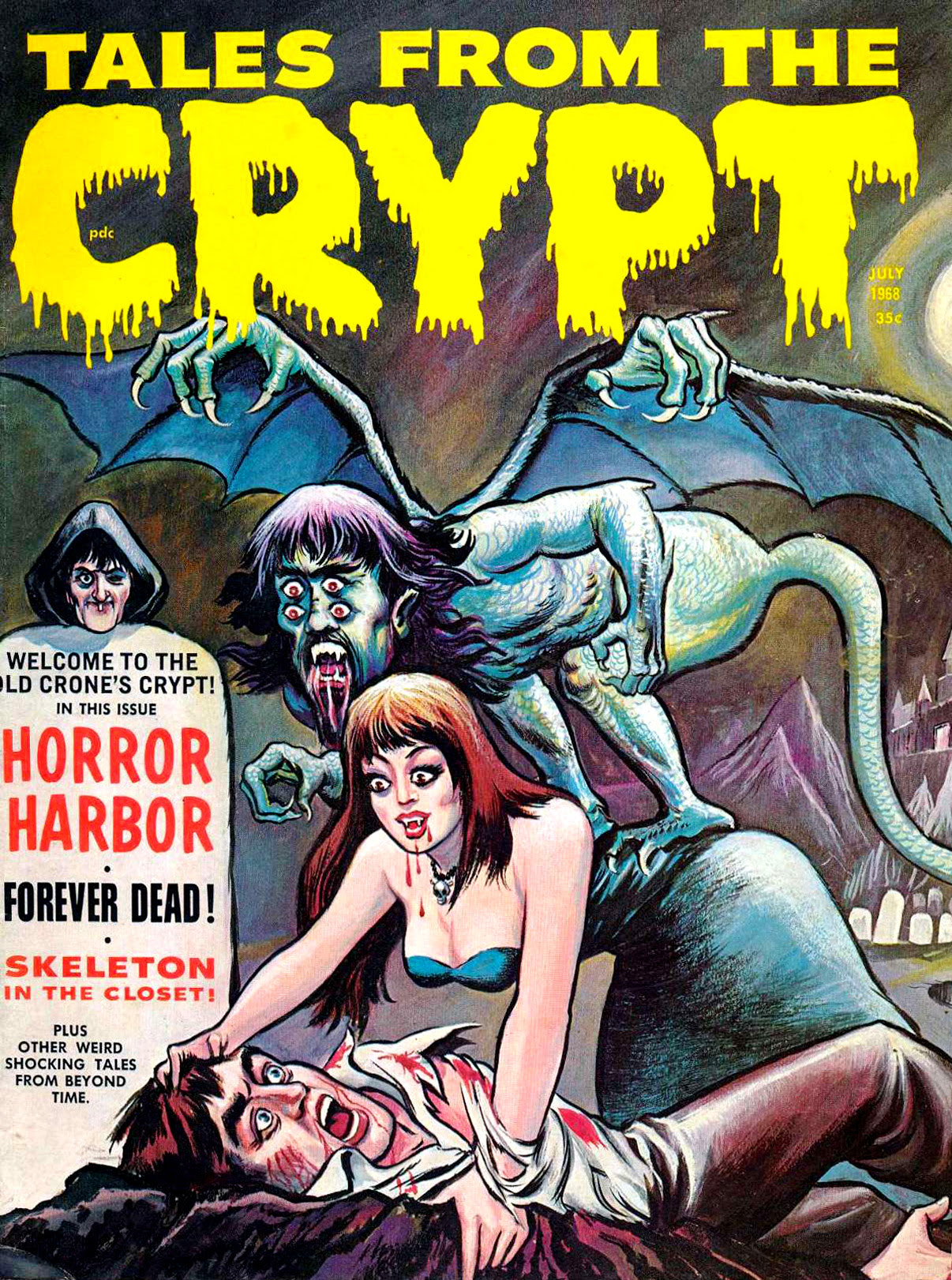 Tales From The Crypt - Issue 1 (Eerie Publications, July 1968)