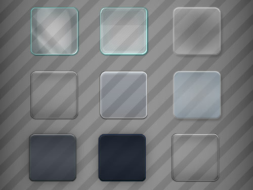 Glass Effect in PSD Download - Download PSD