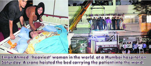 500-kg Egyptian, Eman Ahmed Reaches Mumbai from Egypt on Feb 11 for Weight Loss Surgery