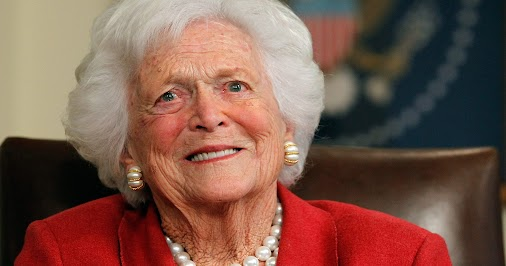 Together again. God bless George & Barbara Bush , TRUE American patriots , may they Rest In Peace.