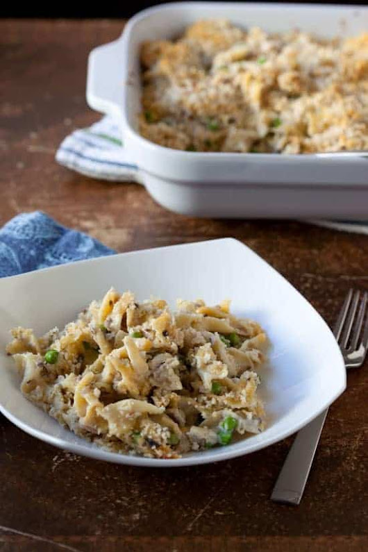 From Scratch Tuna Noodle Casserole Recipe without Canned Soup