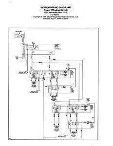 Schaltplan Mercedes W201