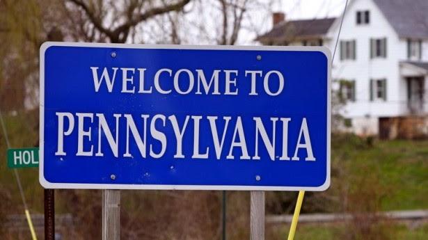 Risultati immagini per pennsylvania cartello