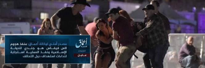 Risultati immagini per LAS VEGAS ISIS RIVENDICA