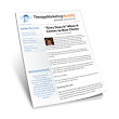 Volume 2, Issue 3, March 2014  |  Therapy Marketing Institute