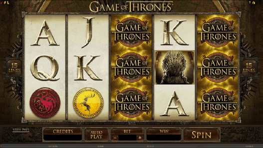 Eagerly Anticipated Game of Thrones ™ Slot Released - Microgaming Online Casino