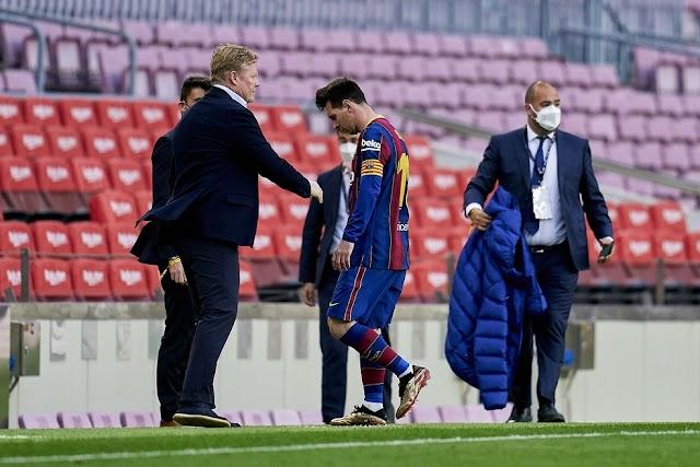 Fim de uma era: Barcelona anuncia saída de Lionel Messi
