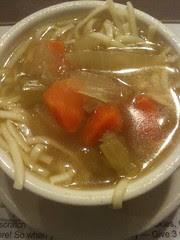 Chicken Noodle Soup to Start at 3 G's