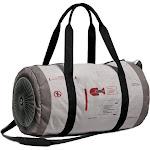 Jet Engine Duffel Bag