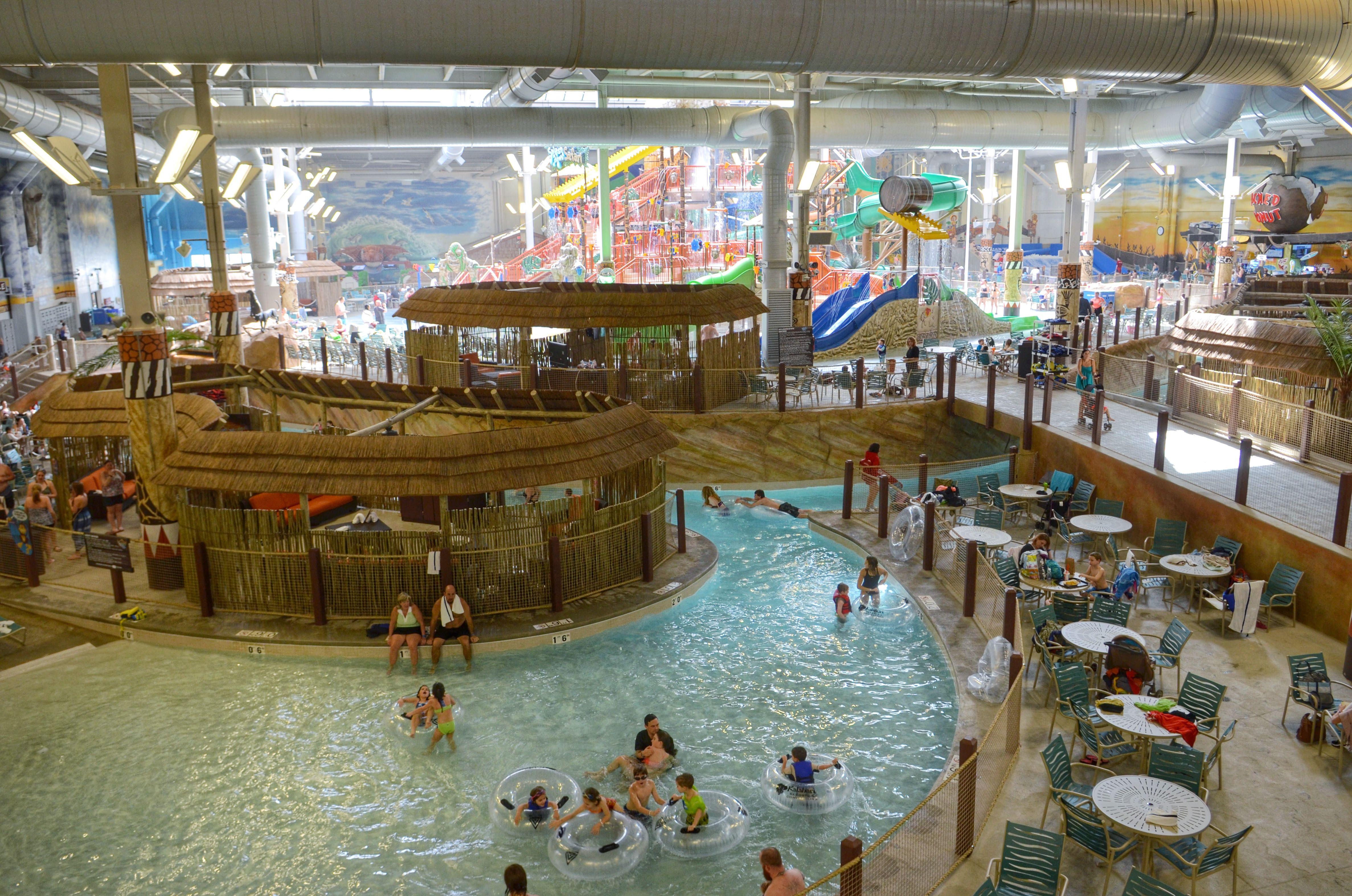Kalahari Waterpark Resorts Review PA  MarinoBambinos