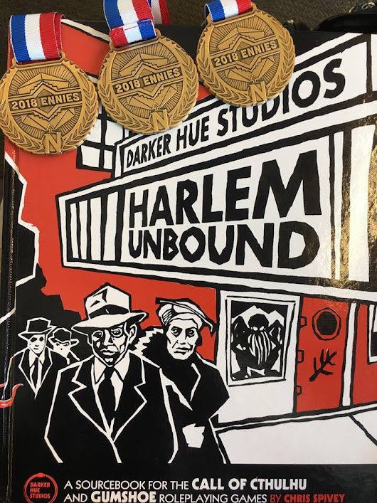 Chaosium picks up 3 times ENnie winning Harlem Unbound and will publish the second edition