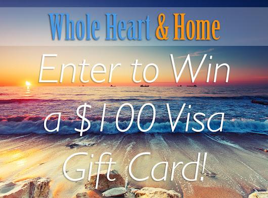 Win a $100 Visa Gift Card Giveaway!