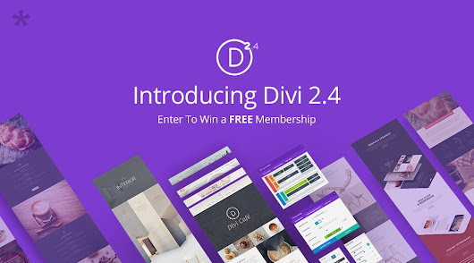 Divi 2.4 has arrived - Divi Theme Examples