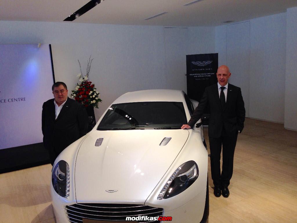 Showroom Pertama Aston Martin Di Indonesia Resmi Dibuka