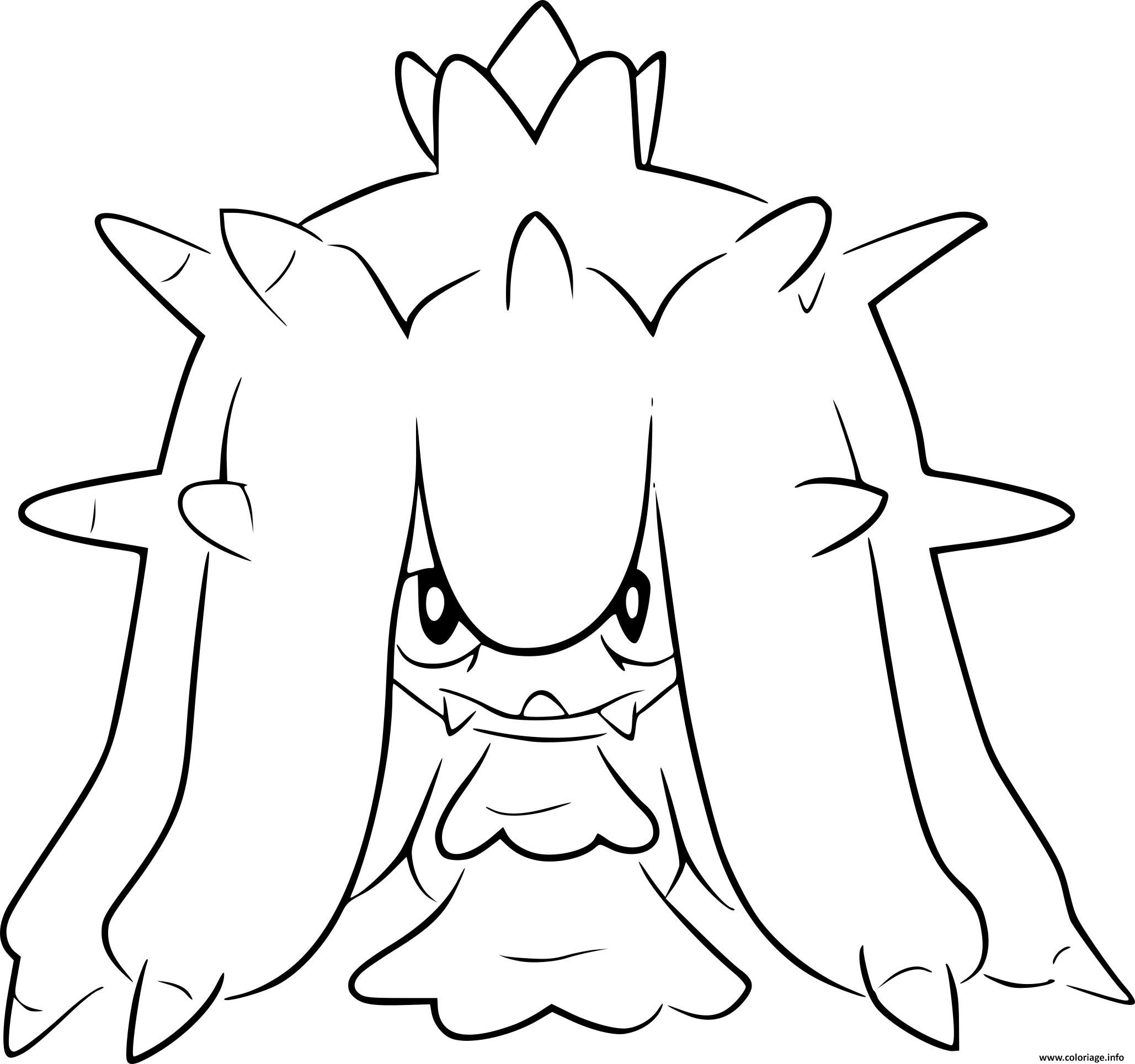 Coloriage Pokemon Noir Et Blanc Vorasterie Dessin  Imprimer