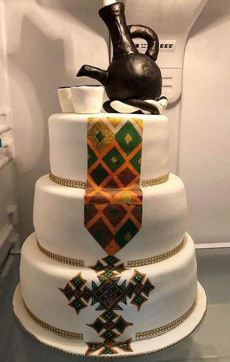 What Happens during the Cake Cutting Ceremony in a Habesha