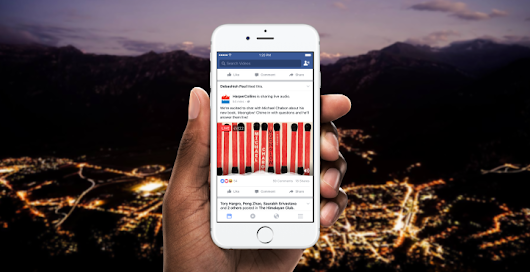 Facebook: ecco le dirette audio | Social Listening