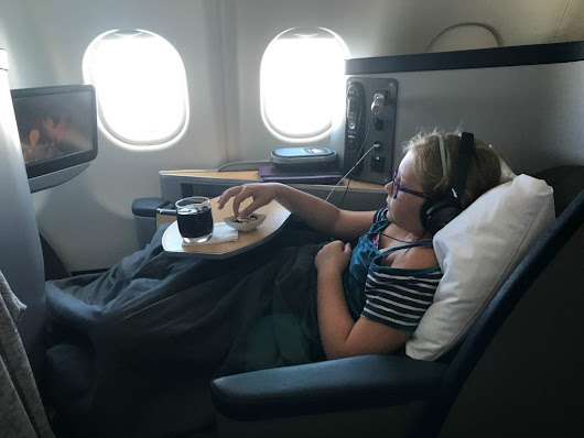American Airline Business Class Review Dublin to Philadelphia Luxury
