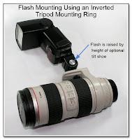 PJ1037: Flash Mounting Using an Inverted Tripod Mounting Ring