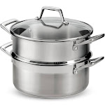 Tramontina 5 qt Steamer Set Stainless Steel