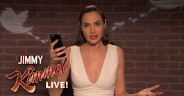 "Gal Gadot and Michael Keaton get roasted on Jimmy Kimmel's ""Mean Tweets #11"""
