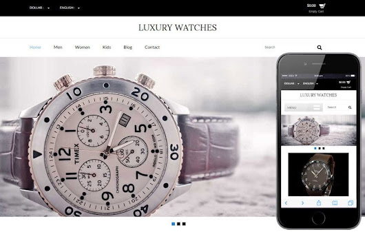 Luxury Watches a Flat Ecommerce Bootstrap Responsive Web Template by w3layouts