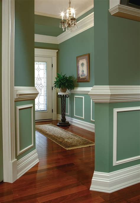 decor  chic design  moulding ideas