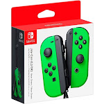 Best Buy Exclusive Joy-Con (L/R) Wireless Controllers for Nintendo Switch - Neon Green