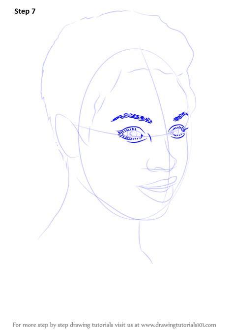 learn   draw jennifer hudson celebrities step