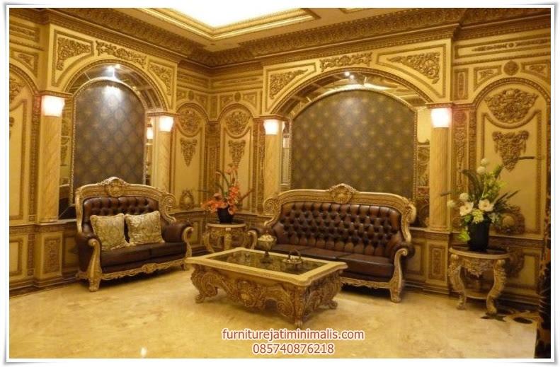 Set Sofa Ruang  Tamu  Ukiran Modern sofa ruang  tamu  sofa