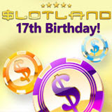Slotlands Celebrates with Freebies Bonuses and a New Game
