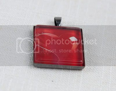 How to make glass tile pendant