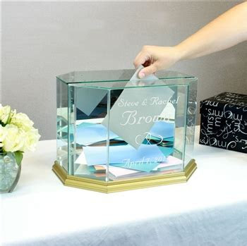 Mis Quince Anos Money Card Box   Octagon   Large