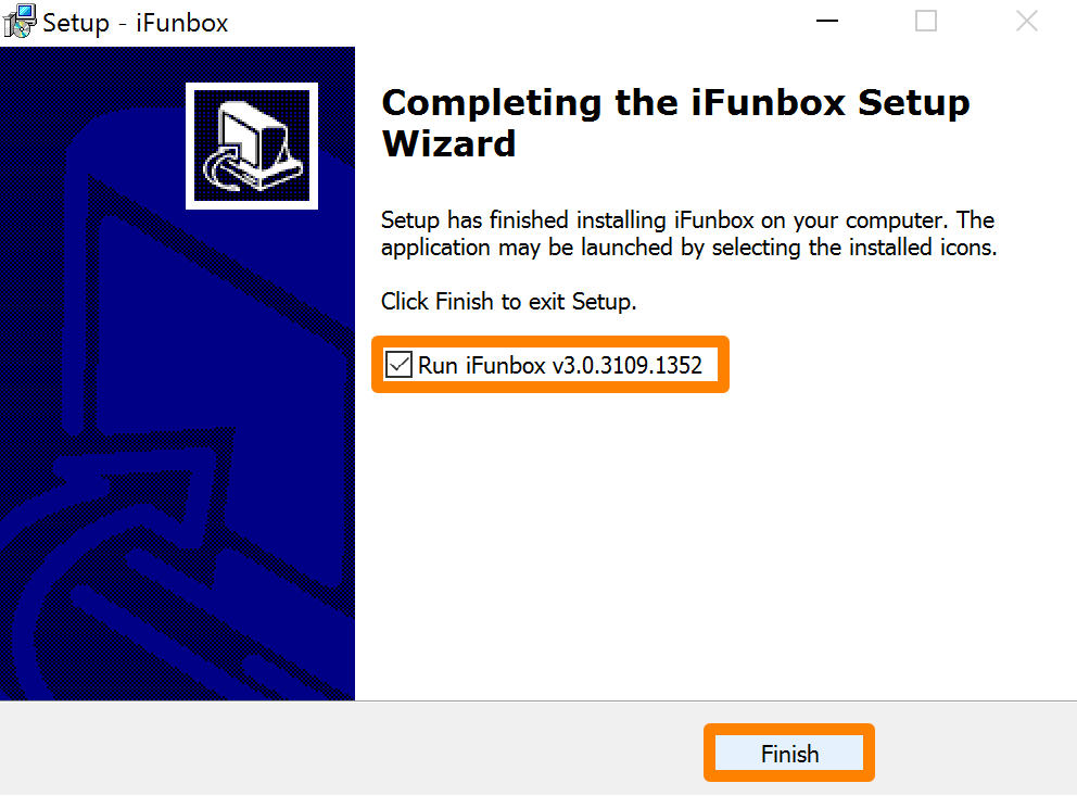 Finish iFunbox Installation and Run the App