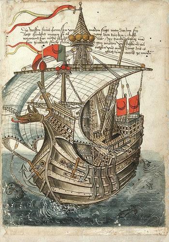 Konrad von Grünenberg - Beschreibung der Reise von Konstanz nach Jerusalem 1487 b