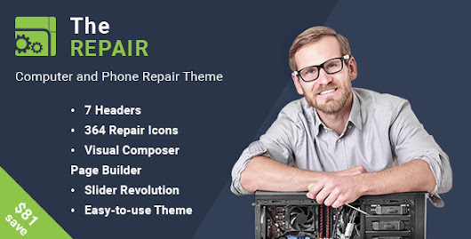 Download The Repair - Computer, Mobile and Electronics Repair WordPress Theme nulled | OXO-NULLED