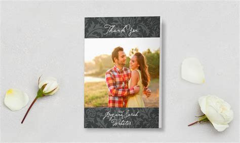 Wedding Thank You Cards   100% Free Customized Samples