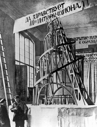 Wladimir Jewgrafowitsch Tatlin [1885 - 1953], Russischer MalerAufnahmedatum: 1919/20Systematik: Personen / K¸nstler / Tatlin / Werke