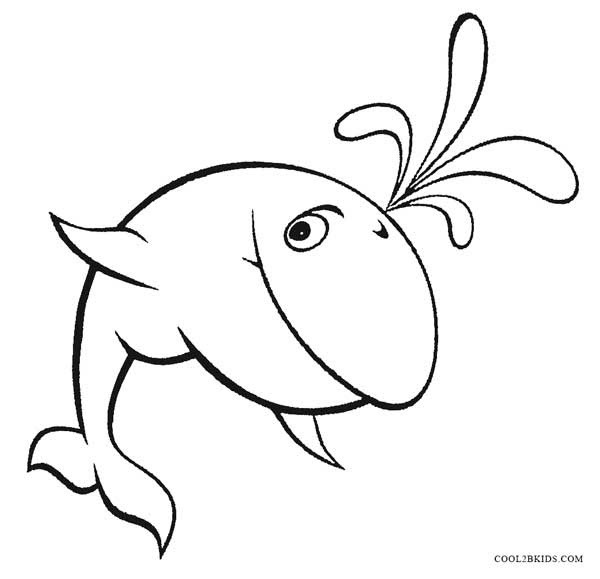 Printable Whale Coloring Pages For Kids | Cool2bKids