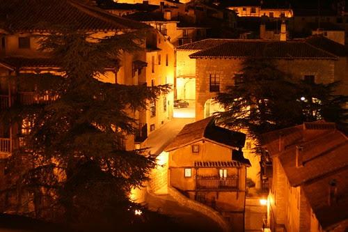 Nightview / Öine vaade Albarracinile