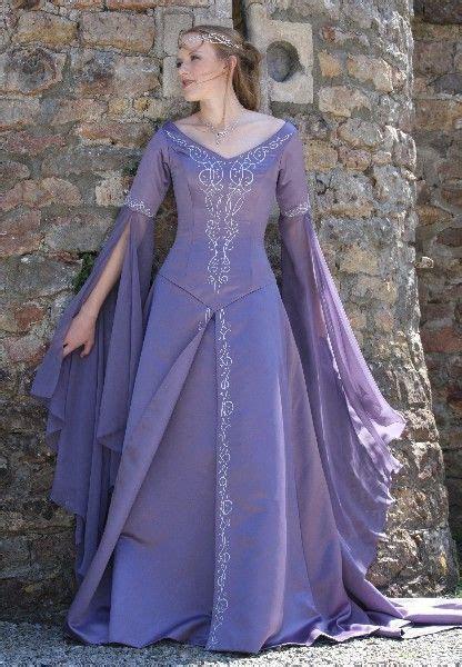 Medieval wedding dresses, Fairy & Celtic wedding dresses