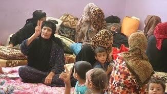 Alguns dels refugiats han pogut escapar de Fallujah